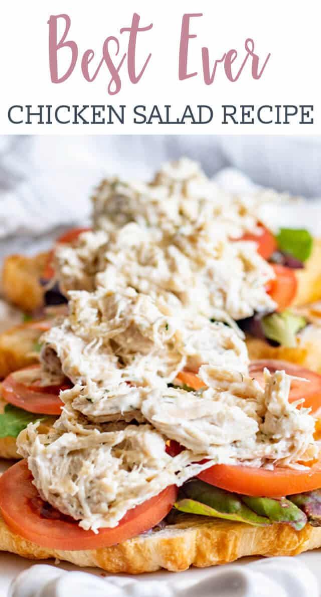 Chicken Salad Recipe Title image