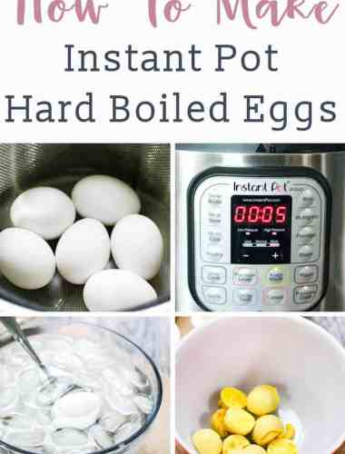 Looking for the best method to make hard boiled eggs? Use your Instant Pot! We're teaching you how to make perfect hard boiled eggs every time with the 5-5-5 method.