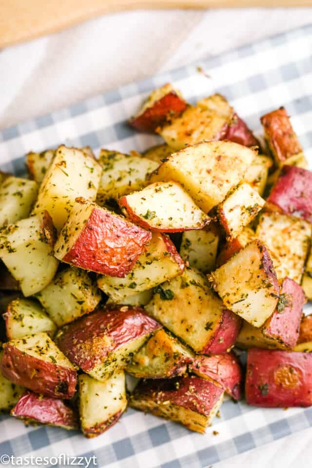roasted red potatoes with Italian seasoning
