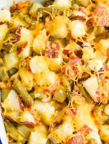 easy Green Bean Potato Casserole