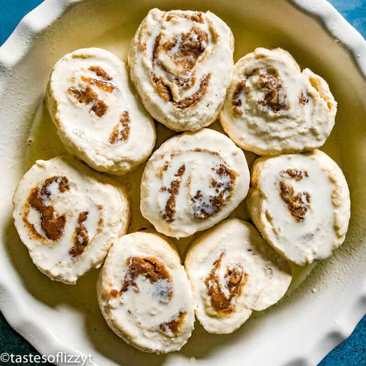 Easy Cinnamon Rolls with heavy cream