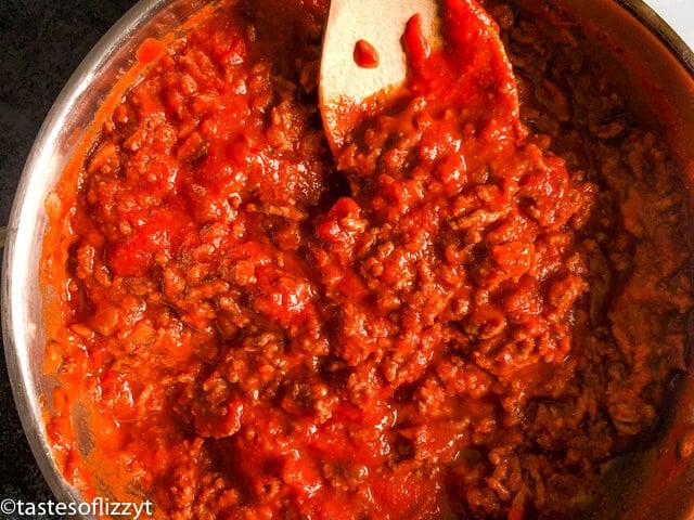 meat pasta sauce