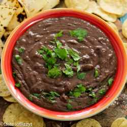 Instant Pot Refried Black Beans