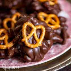 Slow Cooker Turtle Candy