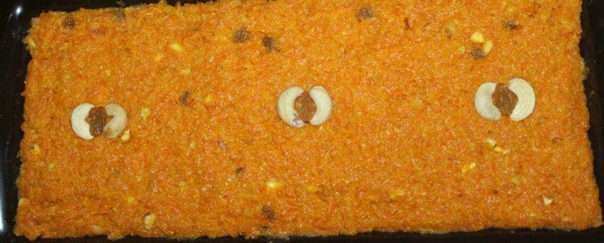 Carrot Halwa