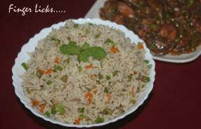 Masala Vegetable Rice