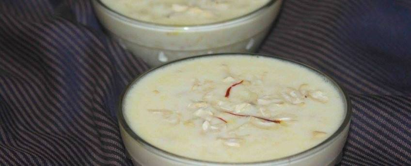 Rice kheer/ Pal payasam