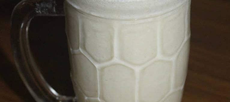 Apple Oats Milk Shake