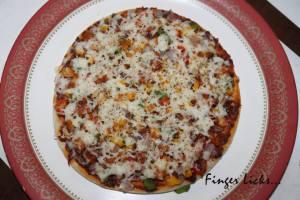 Chicken Pizza/ Homemade Chicken Pizza