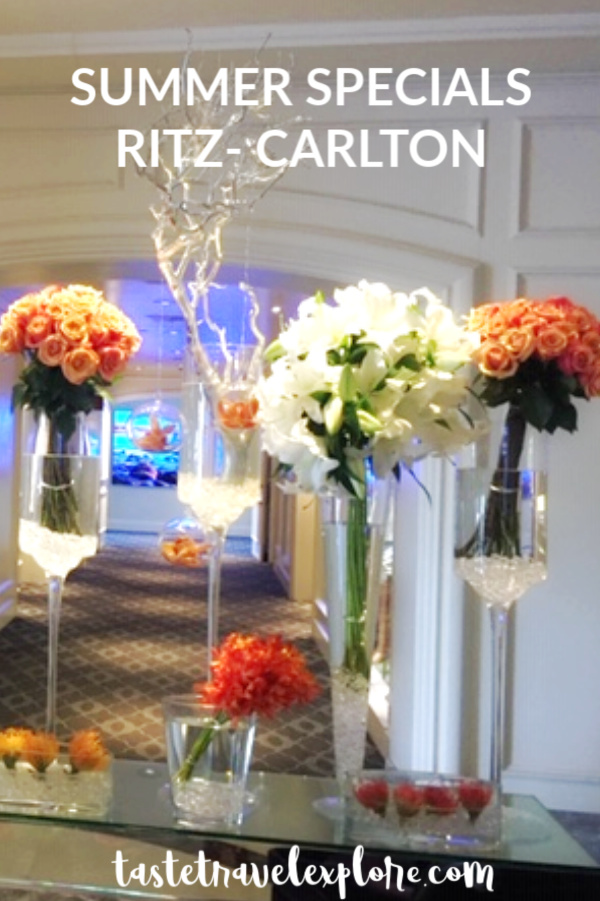 Ritz Carlton Summer Specials