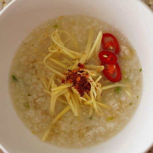 Typical Thai Breakfast Jok
