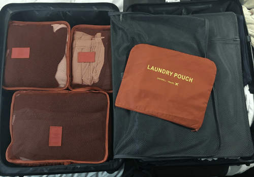 Packing Cubes - Traveling Light - How To Pack In Just A Carry On