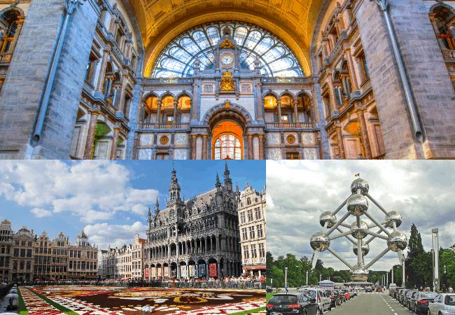 Belgium Must Trys - Architecture