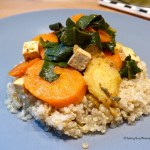 Tasting Good Naturally : Tofu aux légumes accompagné de quinoa #vegan