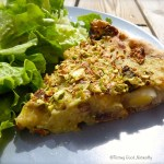 Tasting Good Naturally : Tarte aux asperges champignons et poireaux #vegan