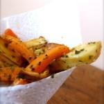 Tasting Good Naturally : Frites de carottes panais et pommes de terre #vegan