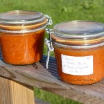 Tasting Good Naturally : Bocal de sauce tomates, basilic et piment d'espelette pour l'hiver #vegan