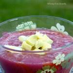 Tasting Good Naturally : Gaspacho à la tomate fraîche #vegan