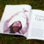 C'est l'histoire d'un coup de coeur… avec un mot, avec un magazine… Happinez
