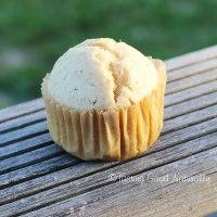 Muffins au zeste de citron et graines de sésame #vegan