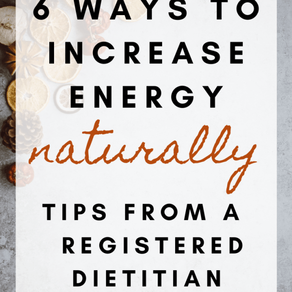 6 ways to increase energy naturally