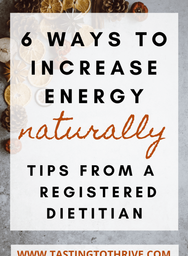 6 Ways to Increase Energy, Naturally
