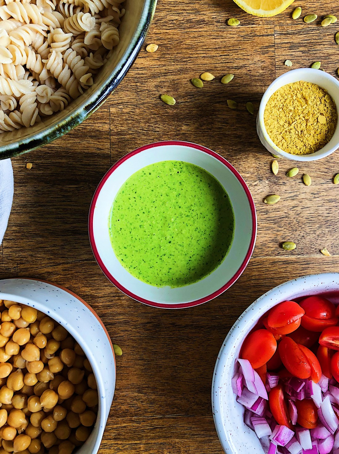 Pesto Pasta Salad Photo 1