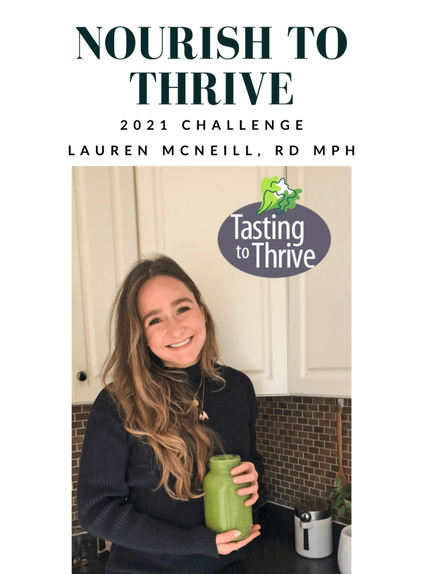 Nourish to Thrive January 2021 Challenge