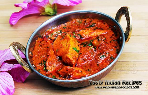 Chicken Masala in Red Spicy Gravy Recipe
