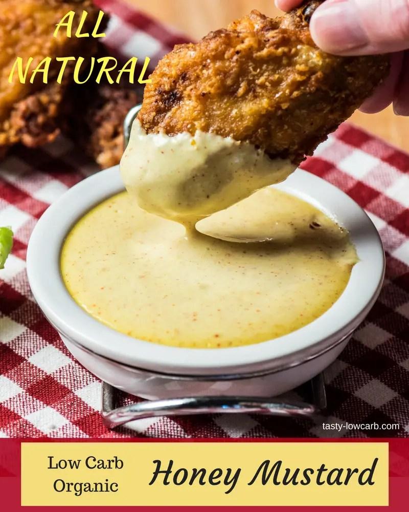 Low Carb Honey Mustard Sauce - Tasty Low Carb