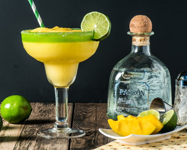 To show the tequila used in our keto mango margarita