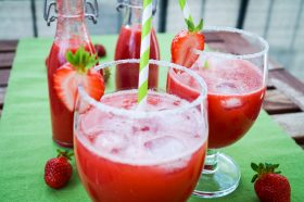 Erdbeerlimonade