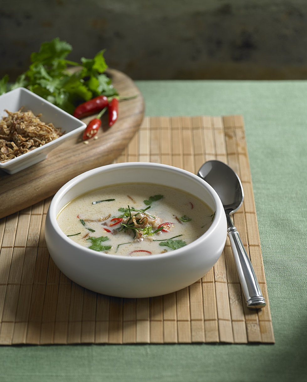 Coconut Crab Soup