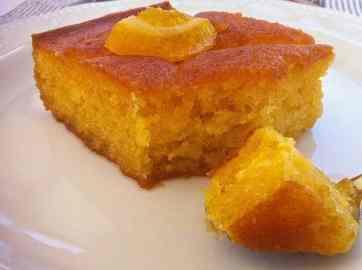 Πορτοκαλόπιτα συνταγή με φύλλο κρούστας
