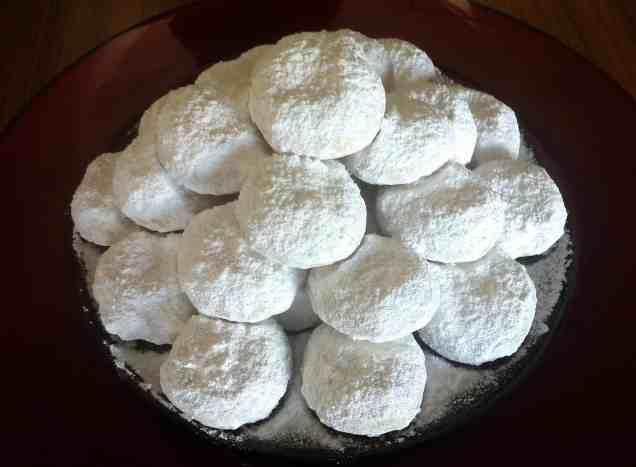 παραδοσιακοί κουραμπιέδες με αλισίβα συνταγή