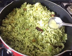 IMG_7316-300x233 Cilantro rice/coriander rice/Dhania rice