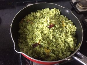 IMG_7317-300x225 Cilantro rice/coriander rice/Dhania rice