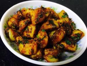 2-300x226 Jeera aloo/Stir fried cumin potatoes