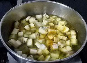 IMG_8907-300x218 Raw Plantain stir fry/green banana curry