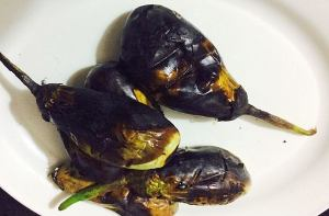 IMG_9456-300x197 Roasted Brinjal Chutney/ Eggplant Tomato Chutney or spread