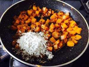 IMG_0022-300x226 Stir Fried Red Pumpkin/Red Pumpkin Poriyal