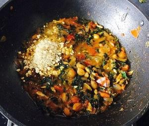 IMG_0382-300x253 Peanut Fenugreek Curry/Singhdhana Methi Curry