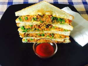 IMG_0421-300x226 Carrot and Green Peas Sandwich