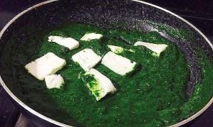 IMG_0536-300x179 Cottage Cheese in Spinach Sauce/Punjabi Palak Paneer