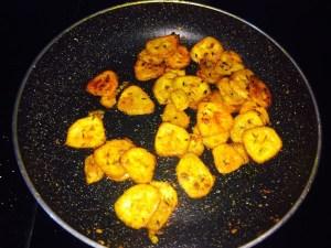 IMG_0981-300x225 Stir Fried Spicy Raw Banana