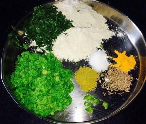IMG_1036-300x256 Vatana Paratha/Green Peas Indian Flatbread