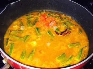 IMG_0809-300x221 Okra Lentil Soup/ Bhindi Sambar/Vendaikkai Sambar
