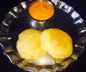 IMG_1203-300x251 Poori with Aamras / Poori with Mango Pulp