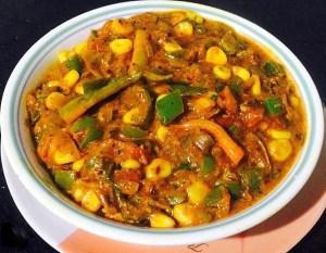 IMG_1530-300x233 Corn Capsicum (Green Pepper) Masala