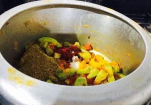 IMG_2500-Copy-300x210 Snake Gourd Gravy / Padwal ki Subzi/ Pudalangai Masala